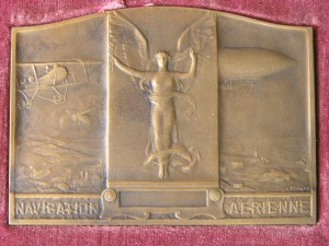 Plaque Bronze from Morlon R