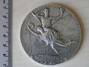 Medal Silver Exposition Paris 1900 RRR