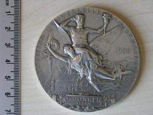 Medal Silver Exposition Paris 1900 RRR