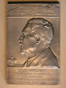Plaque Silver from P.M.Dammann Nobel 1920 RRR