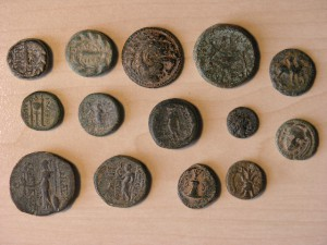 Old Greece coins