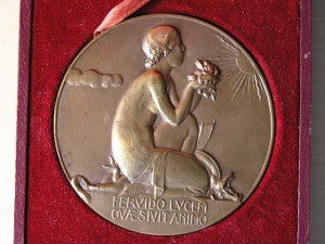 Medal Bronze from P.M.Dammann RR