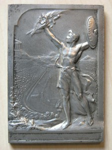 Plaque Silvered from Olympiad 1906 RR