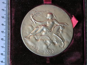 Medal Silver for French Carclub Paris 1908 RRR