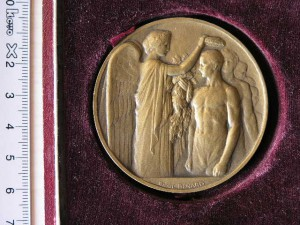 Medail Bronze for Olympiad Paris 1920 RR