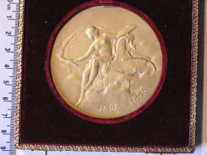 Medal Golded for Car Exposition Paris 1894 RRR