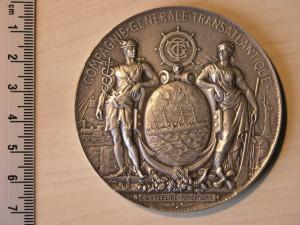 Medal Silver for Atlantic cruiser RRR