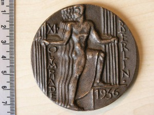 Medal Bronze for Olympiad Berlin 1936 RR